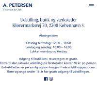 Midtjyske Tæpper hos A. Petersen i København