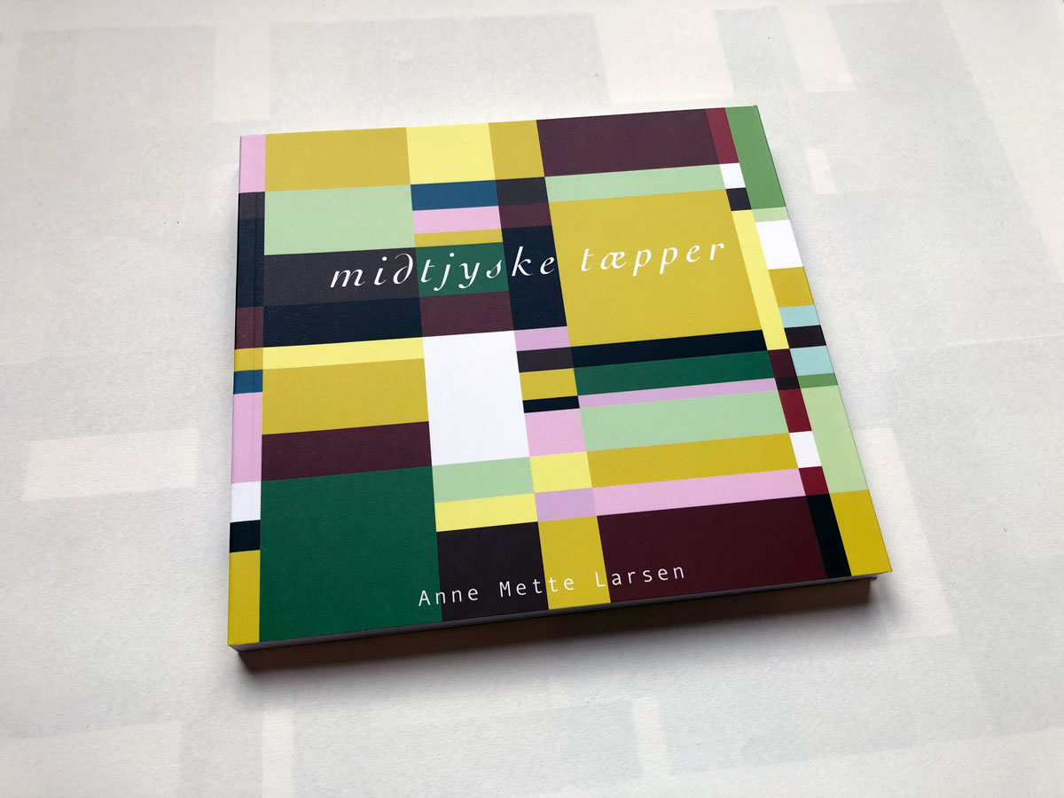 Midtjyske Tæpper - Anne Mette Larsen - Bog